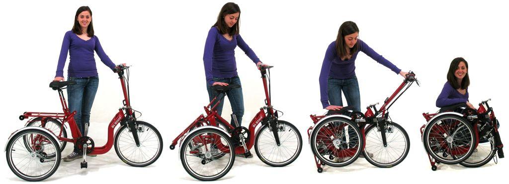 Tricicli Pieghevoli Trike