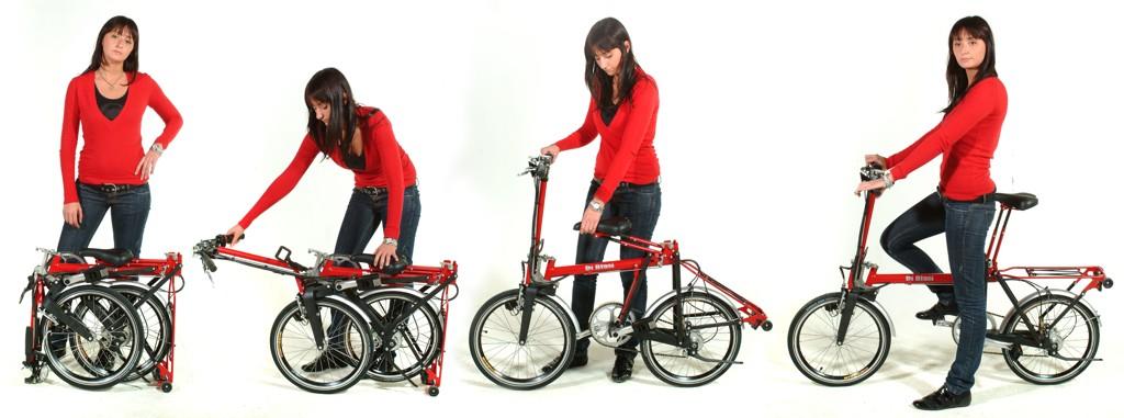 Bicicletta pieghevole di blasi mod r22 for Bici ripiegabili