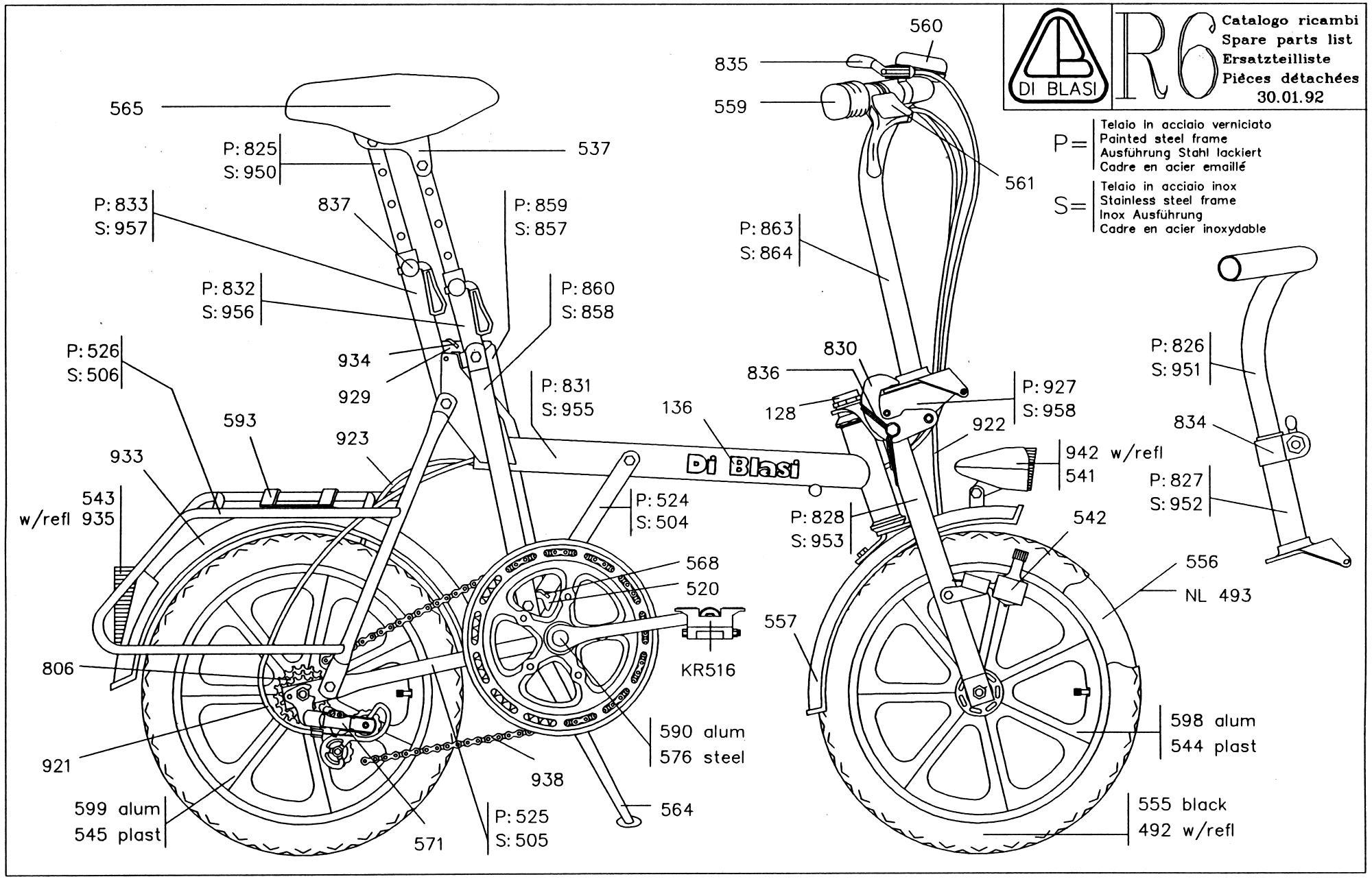 Bici Pieghevole Di Blasi.Ciclomotori Pieghevoli Tricicli Pieghevoli E Biciclette